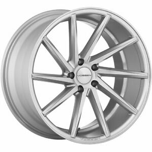 4 Staggered 20x9 20x10 5 Vossen Cvt Silver 5x112 32 30 Wheels Rims