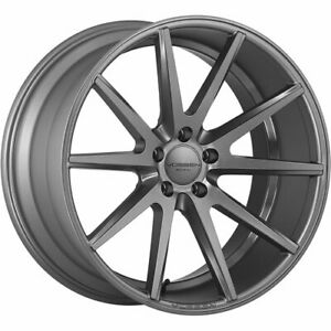 4 Staggered 20x9 20x10 5 Vossen Vfs1 Gray 5x112 32 30 Wheels Rims