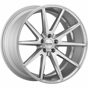 4 Staggered 20x9 20x10 5 Vossen Vfs1 Silver 5x4 5 32 25 Wheels Rims