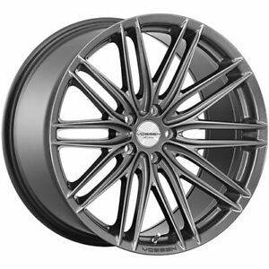 4 Staggered 20x8 5 20x9 5 Vossen Vfs4 Gray 5x112 40 40 Wheels Rims