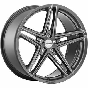 4 Staggered 20x8 5 20x9 5 Vossen Vfs5 Gray 5x112 40 40 Wheels Rims