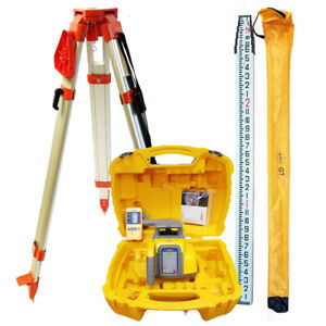Spectra Precision Ll300n 8 Laser Level With Tripod 13 Ft Inch Rod