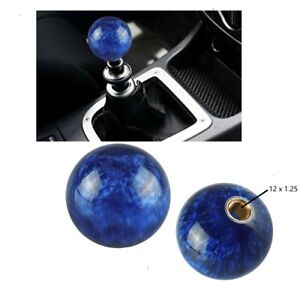 Blue Pearl Ball Shift Knob 54mm For Short Throw Gear Shifter Selector 12x1 25