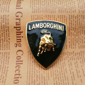 Lamborghini Metal Sticker Bull Emblem Badge 65 56mm 1pc
