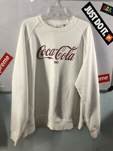 Kith x Coca Cola Crewneck Sweater White Size XL