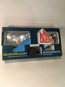 Vintage Night Blaster Clear Auxiliary Lights