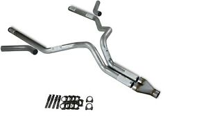 Chevy Gmc 1500 15 18 3 Dual Truck Exhaust Kits Y Pipe Corner Exit