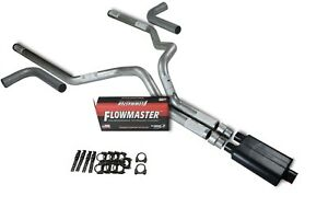 Chevy Gmc 1500 07 14 3 Dual Truck Exhaust Kit Flowmaster Super 44 Side Exit