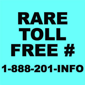 Rare Vanity Toll Free Number Realtor Investor For Your Business 1 888 201 info