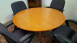 Bernhardt Cherry Wood Conference Table