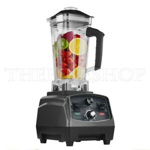 2l Heavy Duty Commercial Blender Withtimer 2200kw Bpa free Fruit Juicer 110 220v