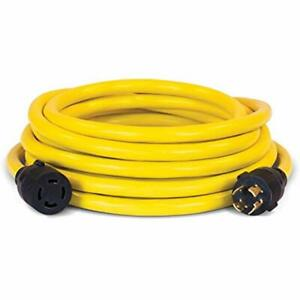 Champion 25 foot 30 amp 250 volt Generator Power Cord For Manual Transfer Switch