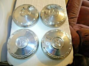 Mopar Dodge Pentastar 9 Set Of 4 Dog Dish Poverty Caps