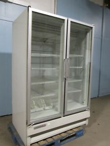 kelvinator Hd Commercial nsf Two Doors Lighted Display Merchandiser Freezer