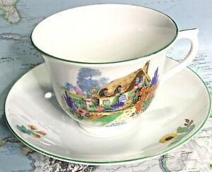 Vintage A Bit Of Old England Bone China Tea Cup Saucer
