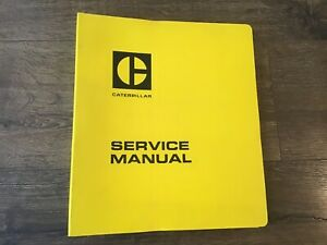 Caterpillar Cat 3208 Diesel Truck Engine Shop Service Repair Manual S n 40s1 up