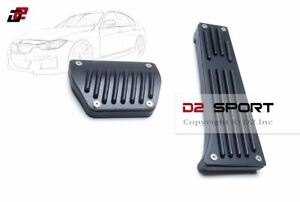Aluminum No Drilling Pedal Covers Black Set Automatic For Bmw 1 2 3 4 5 6 Series