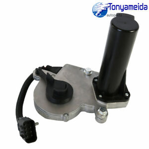 Transfer Case Motor 600 910 For Gmc Chevy Truck Suv Encoder With Rpo Code Np8