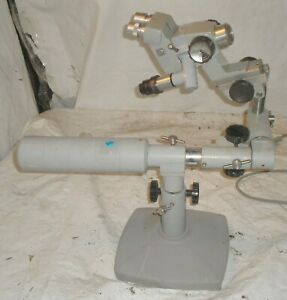 A O american Optical Spencer Boom Microscope W Articulated Boom Stand
