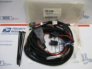 Western Mvp Fisher Ez v Plow Isolation Module 7 pin Main Control Harness 26346