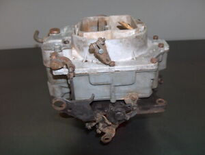 1962 Chevy Corvette Wcfb 4 Bbl Carter Carburetor 327 Carb 3191s 6 1586