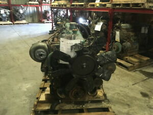 Used Detroit 6 71t Turbocharged Diesel Engine All Complete And Run Tested