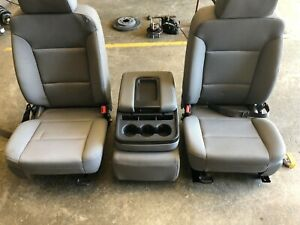 2017 Chevrolet Silverado 1500 Pickup Front Seat Bucket And Bench Seat Opt Az3