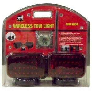 Wireless Tow Lights With 48 Led Light Bulbs 24 In Each Light