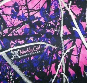 Pink Muddy Girl Camo Hydrographic Film Water Transfer Hydro Dip Dipping