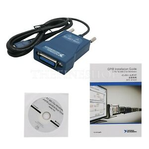 National Instruments Gpib usb hs Interface Adapter Ieee 488 779704 01 778927 01