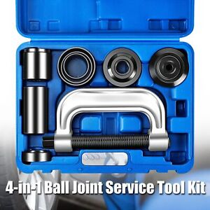 Heavy Duty 4 In 1 Ball Joint Press U Joint Removal Tool Kit W 4x4 Drive Adapters