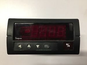 Simpson Electric Digital Panel Meter H335171020