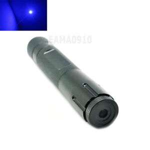 445nm 450nm Blue Focusable Waterproof Laser Pointer Led Torch 450 100 18650 Wbox
