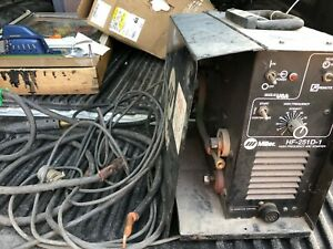 Miller Hf 251d 1 High Frequency Arc Starter With Cables