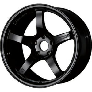 Rays Gram Lights 57cr 18x9 5j 38 5x120 Glossy Black For Civic Type R From Japan