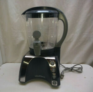 West Bend Hot Drink Beverage Chocolate Cocoa Maker Machine Milk Warmer Frother