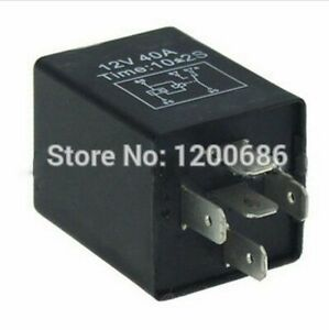 Time Delay Relay 30a Automotive 12v 5 Pins 3 10 Seconds On Delay Relays Spdt