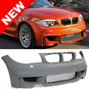 08 13 Bmw E82 E88 1 Series 2dr Coupe 1m Ducted Style Front Bumper Kit