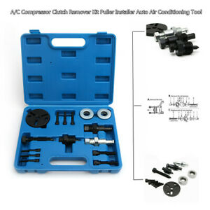 A c Compressor Clutch Puller Remover Kits Stainless Auto Air Conditioning Toos
