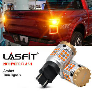 3157 3357 Led Turn Signal Light Rear Anti Flicker For Ford F 150 1988 2018 Amber