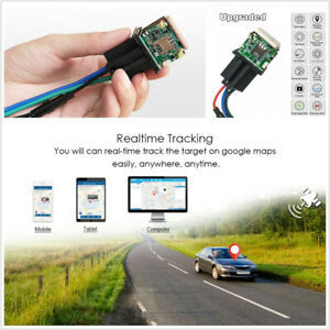 Car Relay Gps Tracking Gsm Locator Remotely Cut Off Resume Fuel Vibrate Alarm