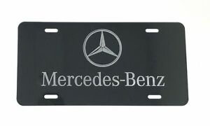 Mercedes Benz Aluminium License Plate Highest Quality For All Vehicles