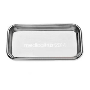 Medical Dental Surgical Stainless Steel Tray Plate Lab Instrument Tool Supplies