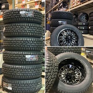 Ford F350 Superduty Dually 275 60 20 Lt E Load Tire Package Brand New