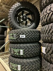 New 18x9 12mm Fuel Off Road Wheels With 275 65 18 Aturro Mt Tires Ford F150