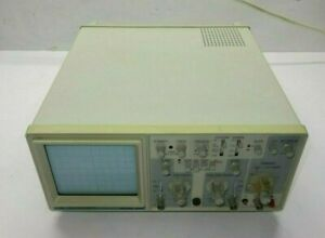 B k Precision 2120 20mhz Dual Trace Portable Two Channel Oscilloscope Tested