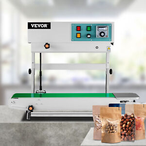 Stainless Steel Fr900 Vertical Horizontal 110volt Continuous Band Bag Sealer