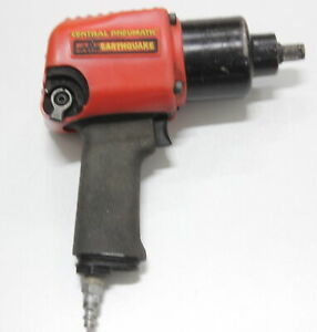 Central Pneumatic Impact Wrench Earthquake 02623