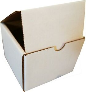 White Indestructo Mailers 5 X 5 X 4 Uline Lot Of 100 Strong Durable Boxes