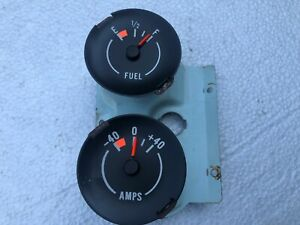 Tested 70 74 Camaro Z28 Fuel Gas Amps Gauge Cluster Rally Gauges 71 72 73 Rs Ss